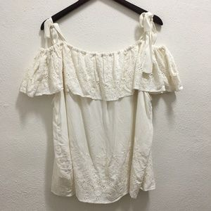 Lucky Brand Off The Shoulder Blouse XXL
